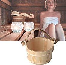 01 Barile per Sauna, Secchio in Legno per Sauna