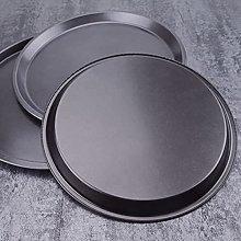1 piatto per pizza in acciaio al carbonio,