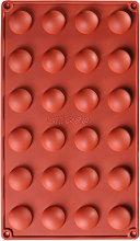 1 PZ 24 Fori Stampo In Silicone Emisferico Stampo