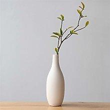 1 pz giapponese minimalista bianco vaso in