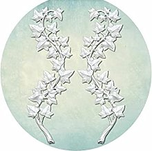 1 pz Ivy Rami 3d Silicone Uv resina epossidica