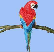 1 pz Realistico Resina Uccello Ornamento Statua