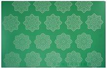 1 PZ Snowflake Pattern Silicone Mat Strumentazione