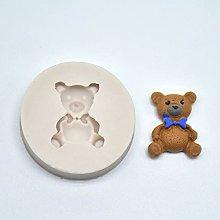 1 stampo in silicone a forma di orso, mini stampo