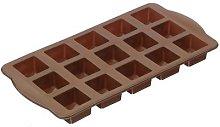 1 Stampo In Silicone Per 15 Cioccolatini