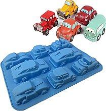 1 stampo per auto in silicone per torte, utensili