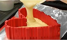 1 tortiera modulare in silicone