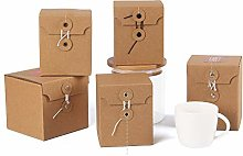 10 Pezzi Scatola Cartoncino Alta Qualità Con
