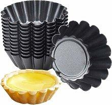 10 Pz Tono Argento In Acciaio Inox Uovo Crostata