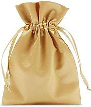 10 sacchetti in raso con cordoncino per la