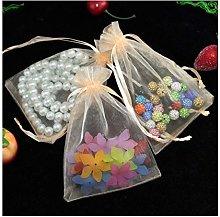 10 sacchetti regalo in organza, sacchetto regalo