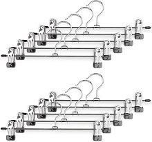 10 scatola di metallo con robuste clip per ganci