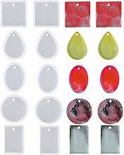 10 stampi in silicone a forma di colazione, per