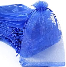 100 sacchetti in organza, da riempire, sacchetti