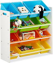 10022747_60 Scaffale per Bambini con Box