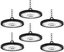 100W Blivrig UFO Lamp Faretto LED,10000LM Lampada