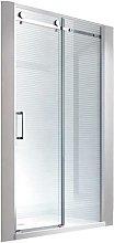 100x195cm Porta nicchia cabina doccia - senza un
