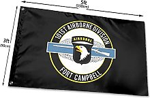 101st Airborne CIB Flag 150CM X 90CMBandiere