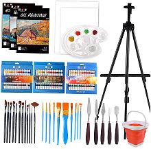 108PCS Deluxe Set di pittura acrilica Forniture