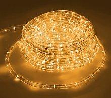 10m LED Giallo Tubo Luminoso Tubo Luce