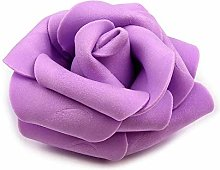10pc Viola Lilla Decorativi Schiuma Rosa Ø6cm,