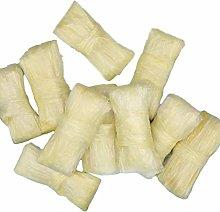 10PCS 2.5m / 8.2ft Carni Secche per Salsicce Pelli