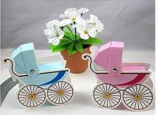 10pz bomboniera passeggino carrozzina bambino