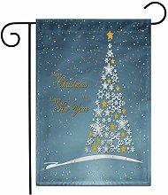 12,5 'x 18' Bandiera da Giardino di Natale
