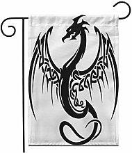 12,5 'x 18' Bandiera Giardino Tatuaggio