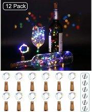(12 pezzi) batteria luce bottiglia, 2m 20 LED luci