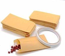 120PCS Carta Kraft Mini Busta portaconfetti per