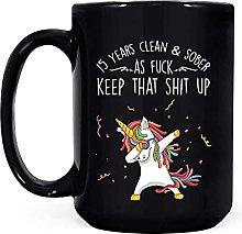 15 anni puliti sobri come un cazzo, tieni quella