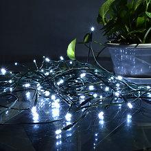 17M 100 LED Lampada da giardino solare per esterni