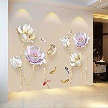 180 * 110 CM Adesivo murale tulipano Adesivi