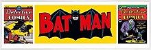1art1 Batman Midi Poster e Cornice (Plastica) -
