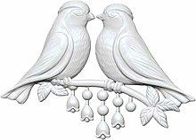 1pc 2 Grandi Uccello Twig Amore 3d in Silicone di