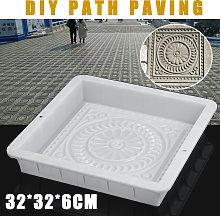1PC 30x30x6cm Plastica Retro Cemento Giardino