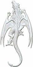 1pc Grande Drago Strisciante 3d in Silicone Magic