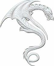 1pc Grande Magia del Drago Animale 3d in Silicone