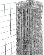 1PZ Rete per recinzione ZINCATA   Altezza H 100 cm