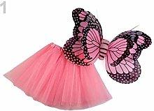 1set Luce Rosa Costume di Festa - Fata Farfalla,