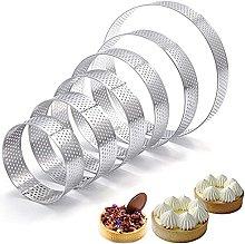 2/5/10 pezzi tondo anello di cottura mousse torta