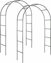 2 Archi per rose rampicanti ca. 240cm - arco per
