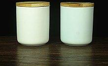 2 contenitori in ceramica, stile Art Style con