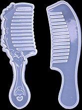 2 forme pettine 3D resina epossidica fai da te