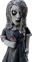 2. PCS. Orrore Movie Giardino Gnomi Spooky Undead