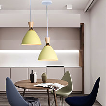 2 Pezzi-Lampadario Moderno Nordico Lampadari a