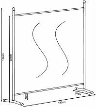 2 Pezzi Paravento da Giardino 180 x 178 cm