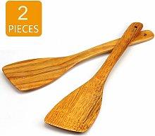 2 pezzi Spatola di legno professionale