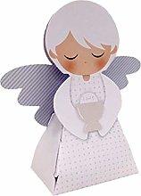 20 PEZZI Portaconfetti a forma di ANGELO CELESTE